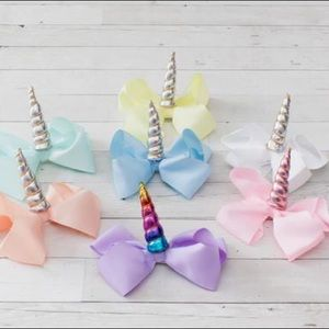 """Other - NWT! 6"""" Grosgrain Unicorn Ribbons"""
